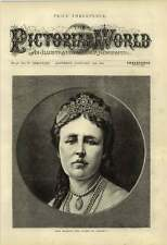 1875 Her Majesty The Queen Of Sweden