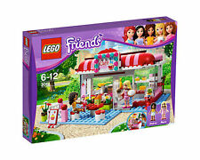 NIB NEW Sealed 3061 lego Friends City Park Cafe Andrea Marie NISB retired rare