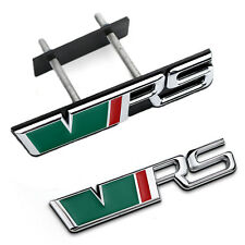 VRS Badge Front Grill + Rear Boot Badge Emblem For Skoda Octavia Fabia Yeti MK2