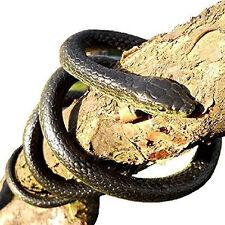 133cm Nero Mamba Life Like Serpente Giocattolo Nuovo