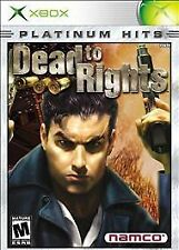 Dead to Rights Platinum Hits for Microsoft Xbox New & Factory Sealed