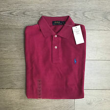 BNWT Ralph Lauren Mens Pink Polo Shirt RRP £70 Size L 100% Genuine