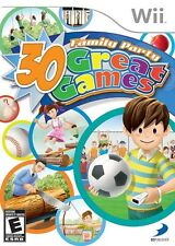 Family Party: 30 Great Games - Nintendo  Wii Game