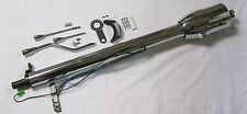 "32"" Chrome Steel Tilt Column Shift Steering Column w/ Shift Indicator Automatic"