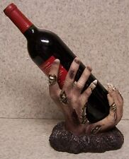 Wine Bottle Holder and/or Decorative Sculpture Zombie Hand NIB
