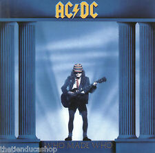 cd slip cartón  AC DC......WHO MADE WHO..PARA FANSSS