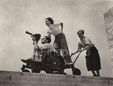 1936 LENI RIEFENSTAHL &  WALTER FRENTZ ~ Germany OLYMPICS Sports Photo Art Film