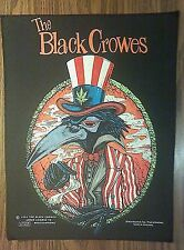 THE BLACK CROWES BACKPATCH razamataz crows back patch band VINTAGE 1993 HTF