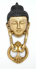 Tibet Buddha Door Knocker Solid Brass Buddhism Home Decor Door Rare New