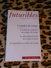 REVUE - FUTURIBLES, analyse et prospective - n° 285, Avril 2003