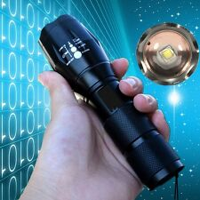 3000LM XM-L2 T6 LED Zoomable Flashlight Bulb Torch Lamp Light Outdoor 18650