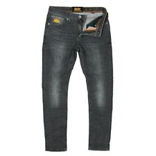 Superdry Super Skinny Grey Jeans. Size: W30 L30 - RRP: £65 NEW WITH TAGS