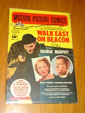 MOTION PICTURE COMICS #113 WALK EAST ON BEACON VG+ (4.5) 1952 NOVEMBER FAWCETT*