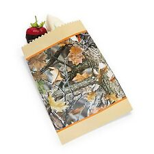 25 Camouflage Camo Paper CAKE BAGS Hunting Wedding Decoration Candy Party Favor