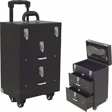 Professioal OPI Nail Polish Manicure Makeup Trolley Case Box Organizers Storage