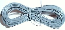 Model Railway Peco or Hornby Point Motor etc Wire 1 x 5m Roll 7/0.2mm 1.4A Grey
