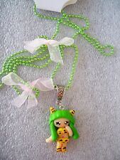 COLLANA LUNGA CIONDOLO IN FIMO FATTO A MANO LAMU' NECKLACE CARTOON