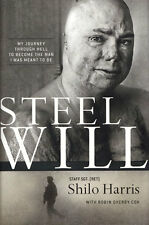 NEW Christian Biography Hardcover! Steel Will - Staff Sgt. (Ret) Shilo Harris