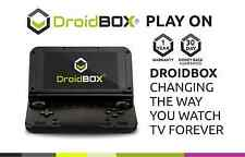"DroidBOX PlayON BLACK Gaming Device Handheld RK3288 QuadCore 32GB ROM 5""IPS LCD"