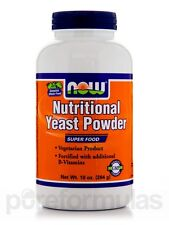 Nutritional Yeast Powder - 10 oz (284 Grams) by NOW