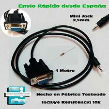 CABLE RECUPERACION RS232 ERROR ASH ENGEL RS4800 Mini Jack 2,5mm DB9  EN