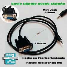 CABLE RECUPERACION RS232 ERROR ASH ENGEL RS4800 Mini Jack 2,5mm DB9 EN