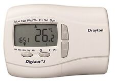 ACL DRAYTON 22087 PROGRAMMABLE 7 DAY ROOM THERMOSTAT DIGISTAT + 3 MAINS POWERED