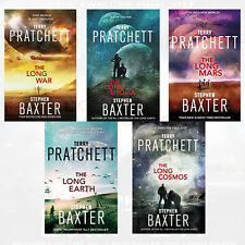 Long Earth Collection By Terry Pratchett & Stephen Baxter 5 Books Set ,Earth,NEW