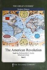 The Teaching Company - The American Revolution, PART 2 ONLY, 2 DVDs