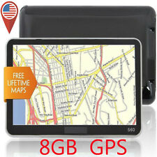 "Hot 5"" 8GB HD Screen Car GPS Navigation Navigator SAT NAV Free US Maps Updates V"