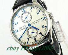 E117,Parnis 43mm Power Reserve Automatic Sea-gull 2542 Men's Watch