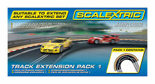 Scalextric Track Extension Pack 1 - 1/32 Scale Slot Car Set C8510