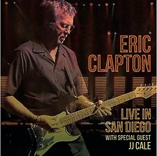 ERIC CLAPTON Live In San Diego With JJ Cale 3 x Vinyl LP 2016 NEW & SEALED