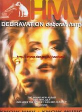 Deborah Harry Debravation Album 1993 Magazine Advert #1071