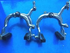 NEW OLD STOCK 1976 WEINMANN 730 ALLOY BRAKE CALIPERS,L'EROICA,RALEIGH,CARLTON ?