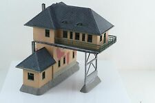 POLA Over tracks Signal Tower Built Up HO Scale