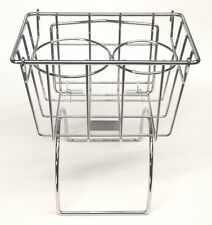 VW Beetle Karmann Ghia Type 3 T34 Tunnel Utility Basket new design Chrome
