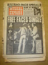 NME 1973 MAR 10 SLADE FACES YOKO ONO JAMES BROWN CAT STEVENS BEACH BOYS OSMONDS