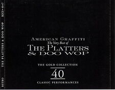 The Platters & Doo Wop 2-CD The Gold Collection 40 Classic Performances - Europe