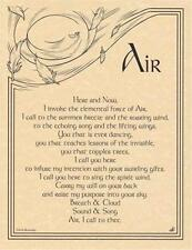 AIR INVOCATION Parchment Page for Book of Shadows!