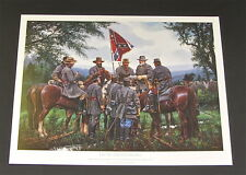 John Paul Strain - On To Gettysburg - Collectible Civil War Print