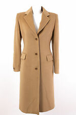 AIGNER Mantel Gr. XL / 42 Wolle-Angora-Seide Klassischer Business Mantel Coat
