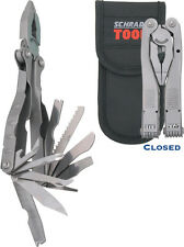 """Schrade SCHSCHST1N Tough Tool 4 3/4"""" Closed All Stainless Construction W/ Bead B"""