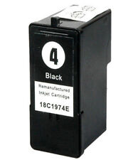 Non-OEM Replace No 4 For Lexmark X3690 Black Ink Cartridge