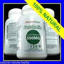 FORSKOLIN EXTRACT 100% PURE COLEUS FORSKOHLII Weight Loss 500MG Vitamins Vision