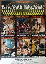 Liza Minnelli NEW YORK NEW YORK `77  Plakat A1