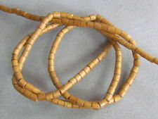 2 Strands Light Brown 5x4mm Wood Beads, 180/Strand(W10A22