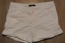 NAUTICA Lined Lace Shorts WHITE Girls Size 12, DAMAGED (see pics)