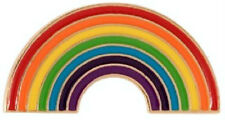 Rainbow Pin Badge - Novelty/ Celebration/ Pride
