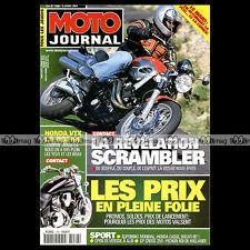 MOTO JOURNAL N°1466 HONDA VTX 1800 ★ 24 HEURES DU MANS 2001 ★ VOXAN SCRAMBLER